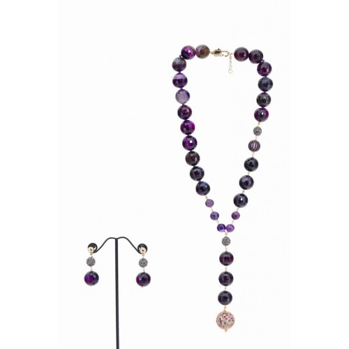 ELLA NECKLACE AND EARRING