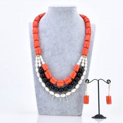NAFISAT NECKLACE AND EARRING