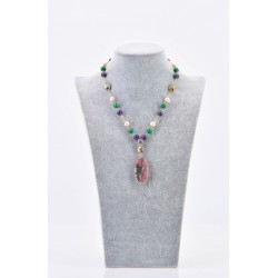 BLOSSOM GOLD FILLED CHAIN NECKLACE